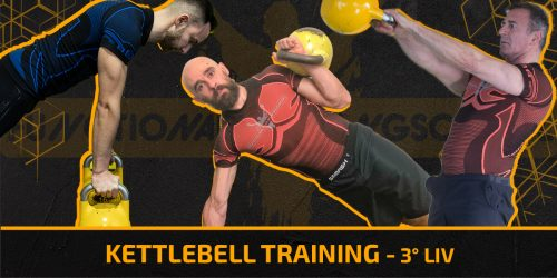 Kettlebell training 3 liv