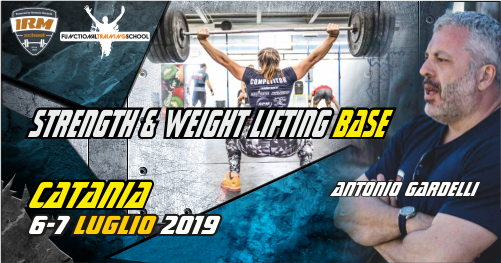Catania, 06-07 Luglio -Strength e Weight Lifting Base