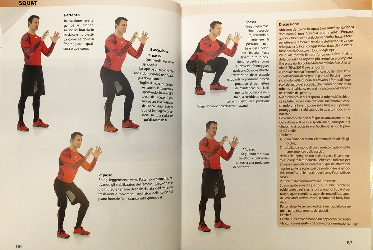 """Lo Squat: un movimento """"anca dominante"""" o """"caviglia dominante""""?"""
