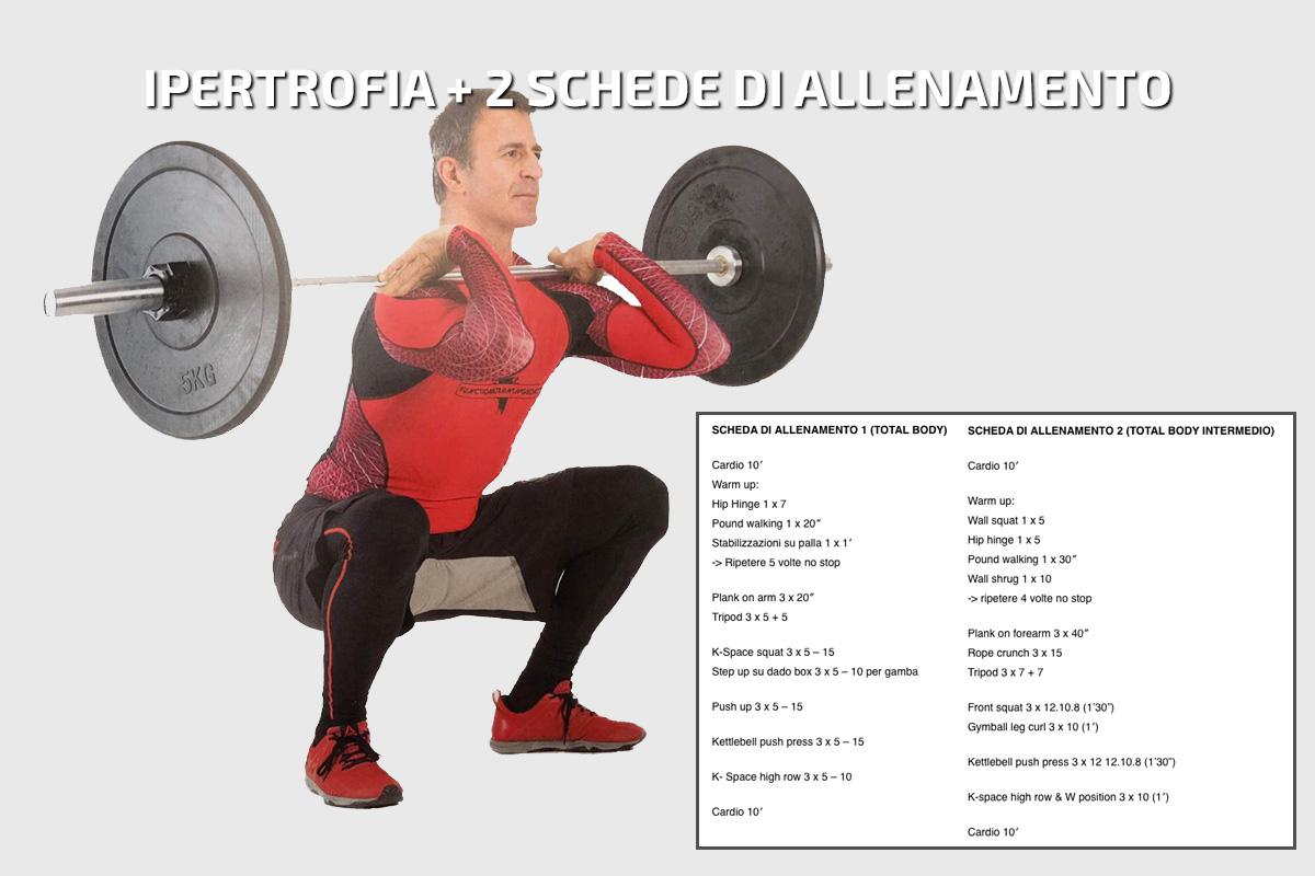 IPERTROFIA + 2 schede di allenamento