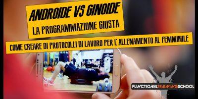 Androide VS Ginoide, La Programmazione Giusta, 11 ottobre 2020