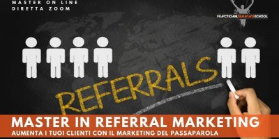 Master online Referral Marketing, 03 ottobre, 2020
