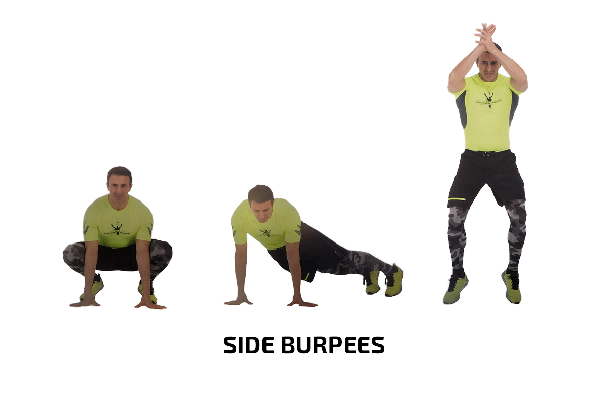 Side Burpees