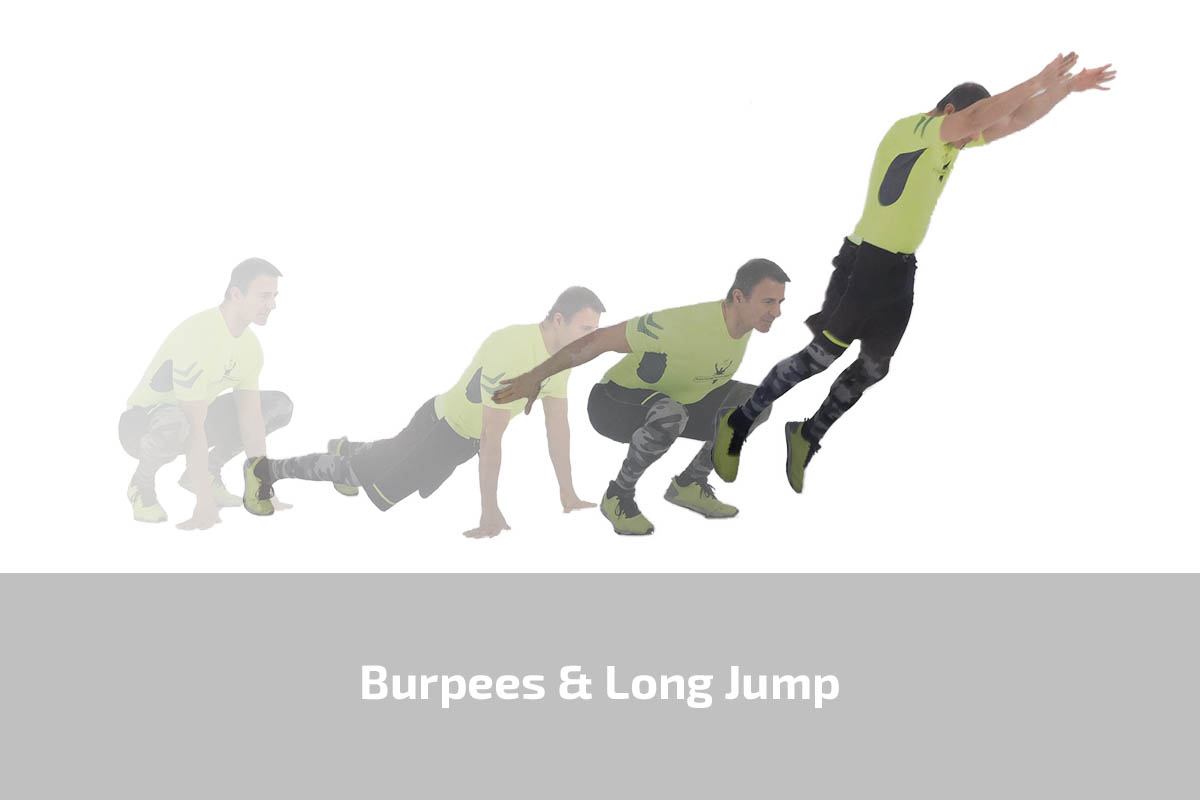 Burpees & Long Jump