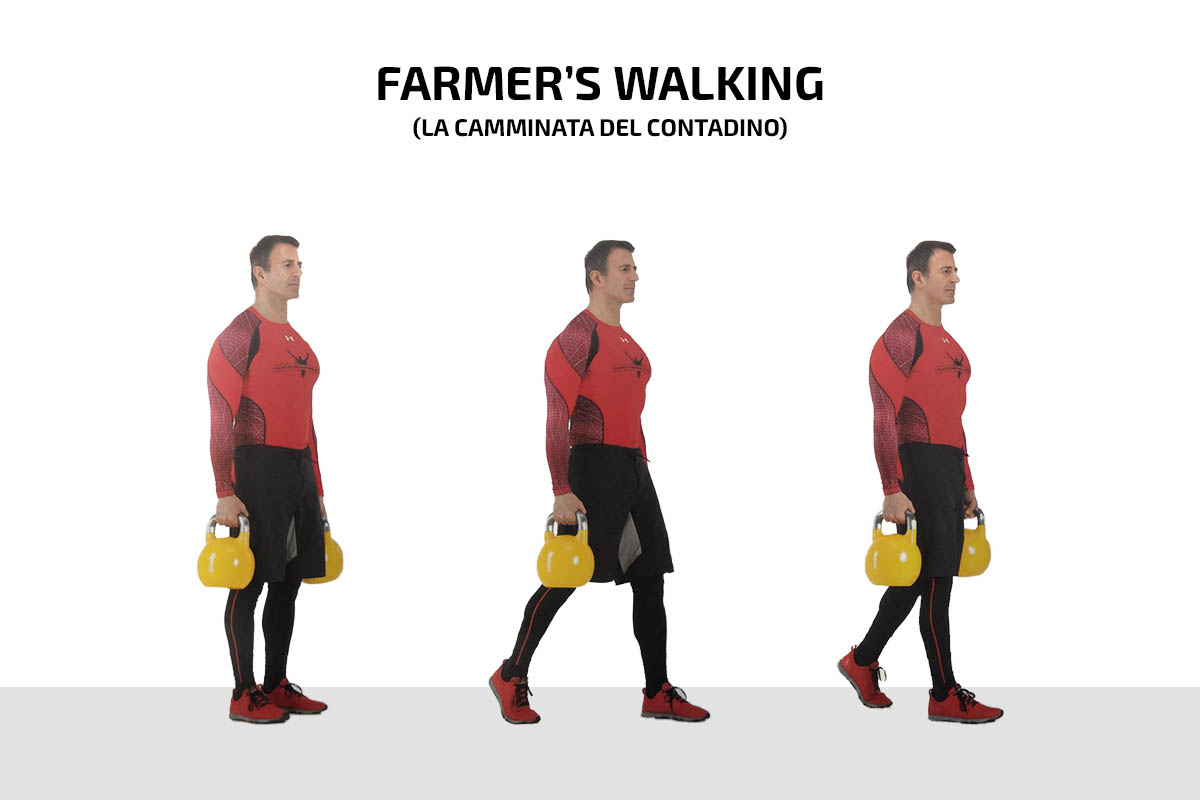 Farmers's walking (la camminata del contadino)