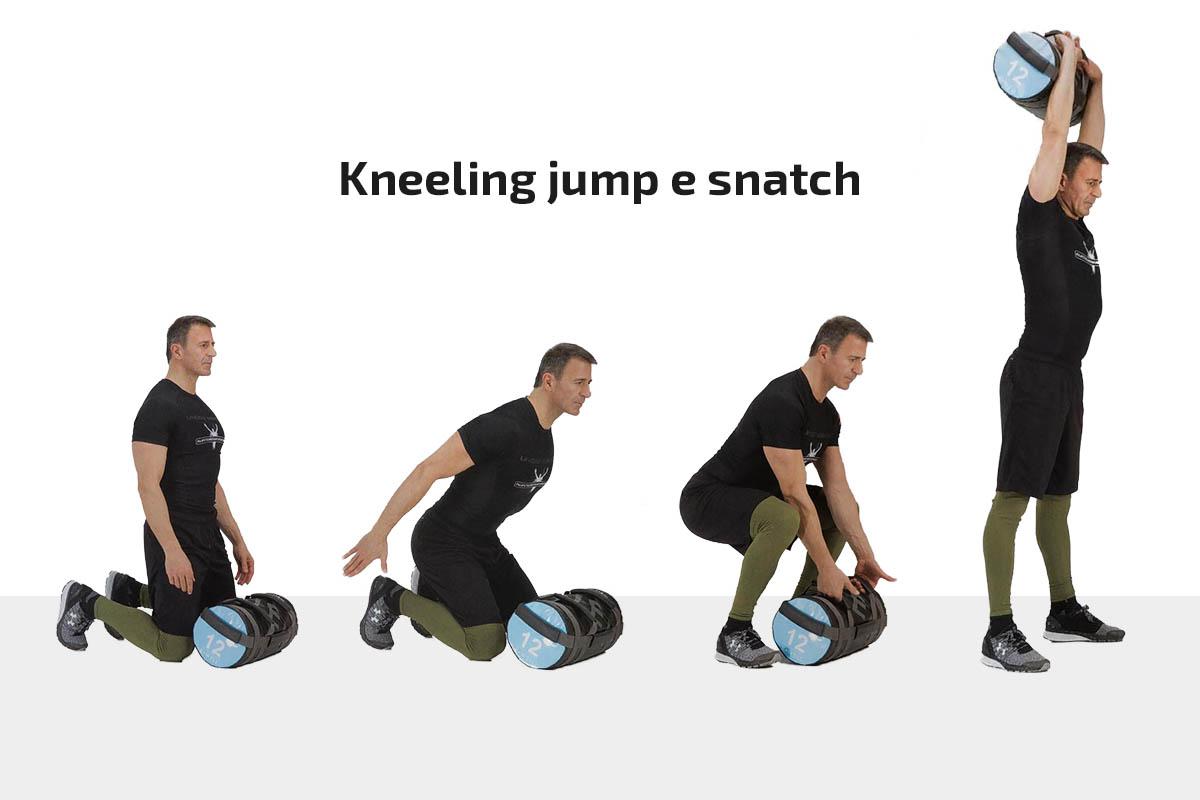 Kneeling jump & snatch