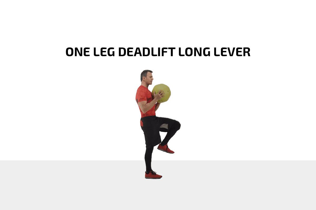 One leg Deadlift Long Lever
