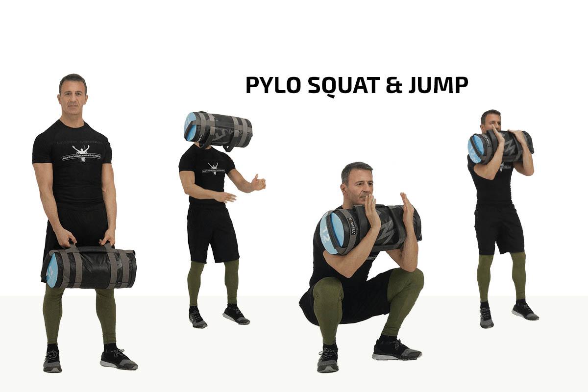 Pylo squat & jump