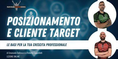 𝗪𝗘𝗕𝗜𝗡𝗔𝗥: Posizionamento e Cliente Target- 01 Aprile 2021