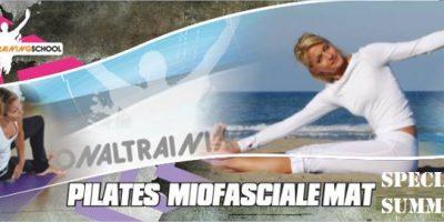 Online 04-05-06-20  Giugno- Pilates Matwork Miofasciale Base – Intermedio1°2°liv.
